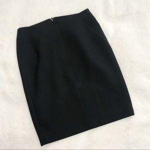 Ann Taylor LOFT Petites Black Skirt NWT